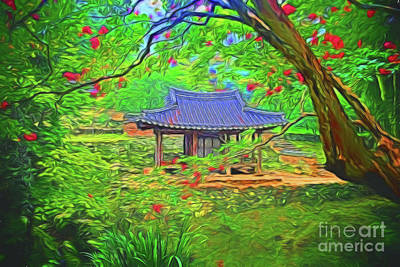 Photograph - Peace And Serenity 16218 by Ray Shrewsberry