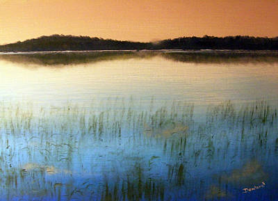 Painting - Peace At Dawn by Raymond Doward