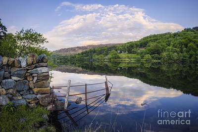 Photograph - Peace At The Lake by Ian Mitchell