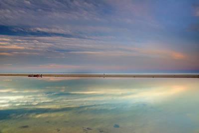 Tarifa Photograph - Peace At The Seasunset by Guido Montanes Castillo