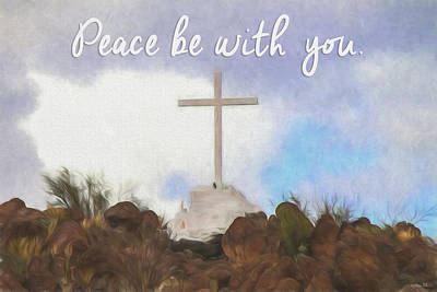 Photograph - Peace Be With You by Teresa Wilson