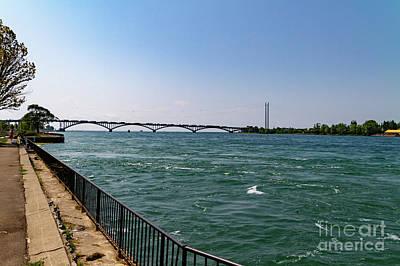 Photograph - Peace Bridge by William Norton