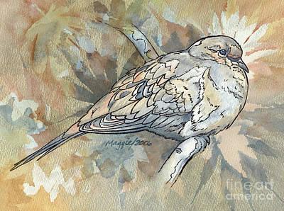 Safari - Peace Dove, Rust by Maggie Huft