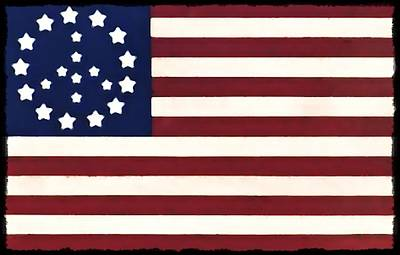 Peace Flag Print by Bill Cannon