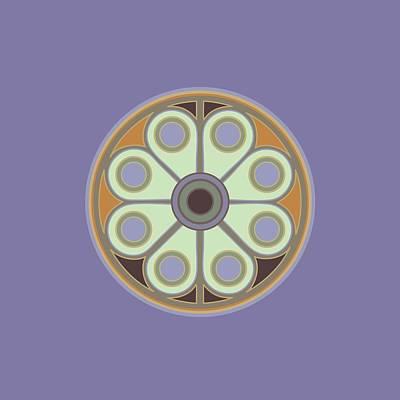 Digital Art - Peace Flower by Linda Ruiz-Lozito