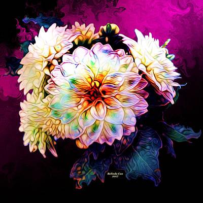Digital Art - Peace Flowers by Artful Oasis