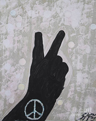 Peace For Foofoo Original by Sean-Michael Gettys