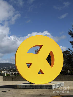 Photograph - Peace From The Oakland Museum Oakland California 7d13411 by San Francisco Art and Photography