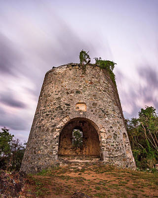 Sunset Photograph - Peace Hill Sugar Mill by Adam Romanowicz