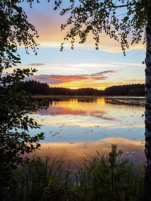 Photograph - Peace In Nature by Ismo Raisanen
