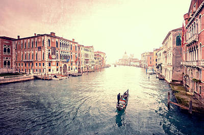 Peace In Venice Art Print