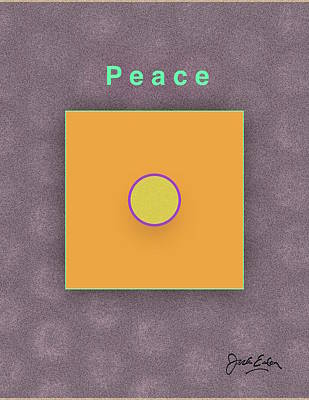 Peace Art Print by Jack Eadon
