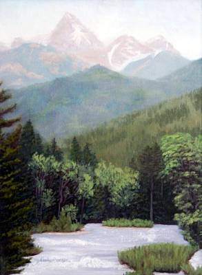 Painting - Peace Like A River by Candy Prather