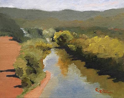 Painting - Peace Like A River by Chris Rice
