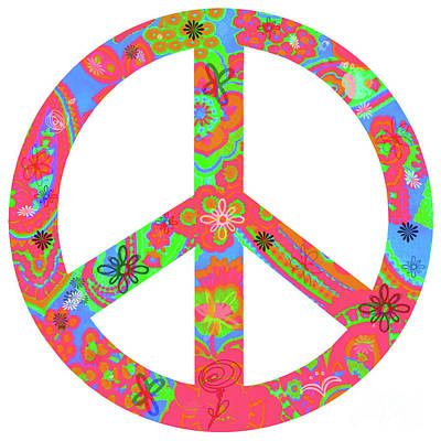 Digital Art - Peace by Linda Lees