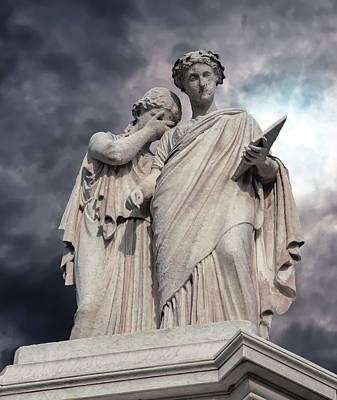 Photograph - Peace Monument - Washington D C by Greg Thiemeyer