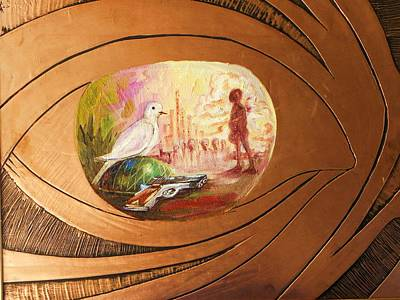 Peace Art Print by Nduka f Onyia