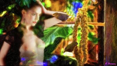 Fine Art Nudes Digital Art - Peace Offering  by Richard Hemingway