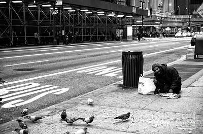Photograph - Peace On 42nd Street by John Rizzuto