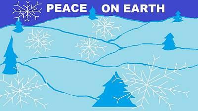 Peace On Earth 2 Art Print