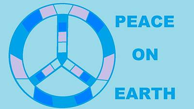 Peace On Earth 3 Art Print