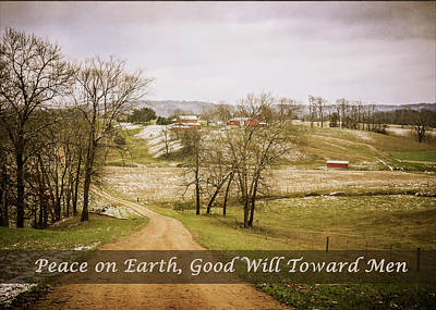 Photograph - Peace On Earth - Color by Joni Eskridge