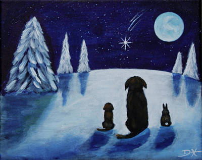 Painting - Peace On Earth by Diana Haronis
