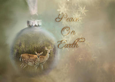 Digital Art - Peace On Earth by TnBackroadsPhotos