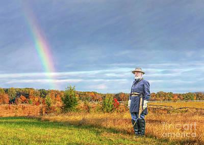 Digital Art - Peace On The Gettysburg Battlefield by Randy Steele
