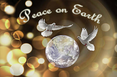 Photograph - Peace On This Earth by Debra and Dave Vanderlaan