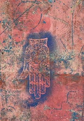 Mixed Media - Peace Prayer by Susan Richards