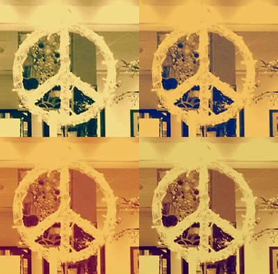 Peace Art Print by Sherry Dee Flaker