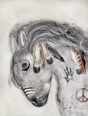 Painting - Peace Song by Bleu Bri