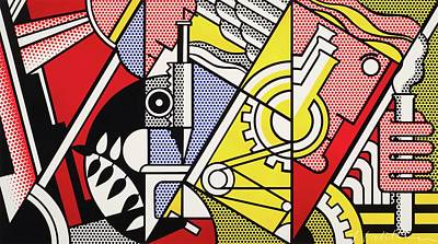 Photograph - Peace Through Chemistry I by Roy Lichtenstein