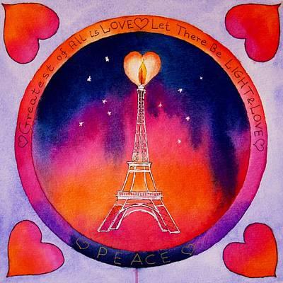 Peace To Paris Original by Eva Nichols