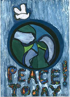 Peace Today Art Print