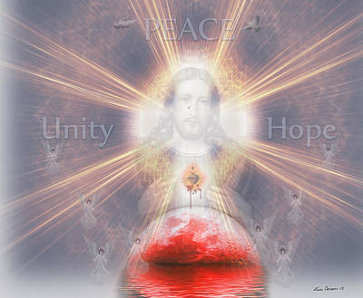 Peace, Unity And Hope Original by Lisa Carian