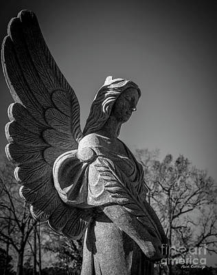Photograph - Peace Walker Umc Angel Art by Reid Callaway