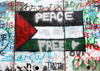Photograph - Peace Will Set Us Free by Munir Alawi