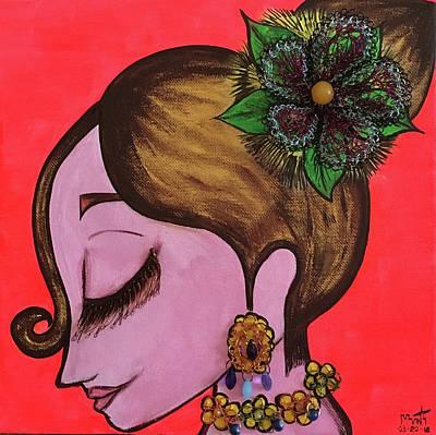 Mixed Media - Peace Within #2 by Marita Valdizan