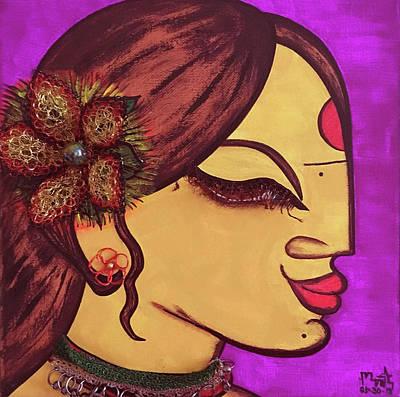 Mixed Media - Peace Within #4 by Marita Valdizan
