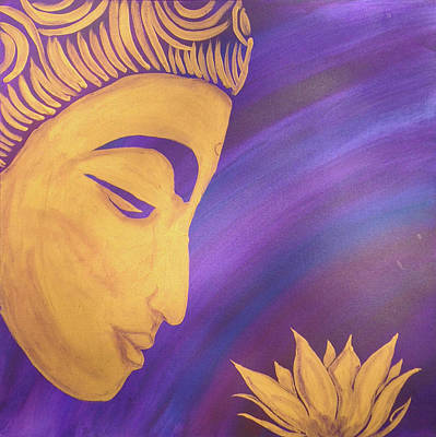 Painting - Peace Within Peace Without by Su Nimon