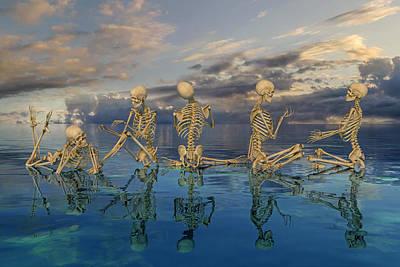 Surrealism Digital Art - Peaceable Symphony   by Betsy Knapp