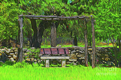 Photograph - Peaceful 11118 by Ray Shrewsberry