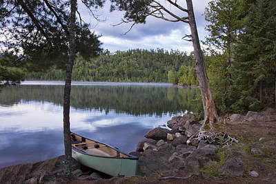Photograph - Peaceful Afternoon At Duncan Lake by Shari Jardina