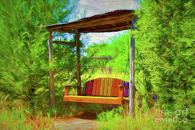 Photograph - Peaceful And Relaxing 11618-3 by Ray Shrewsberry