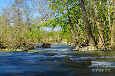 Photograph - Peaceful At The River by Jennifer White