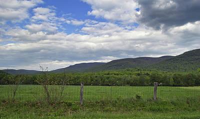 Peaceful Blue Ridge Valley - Virginia Art Print