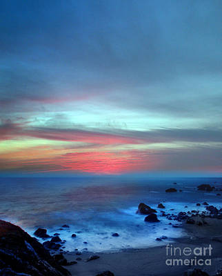 Photograph - Peaceful Bodega Bay Sunset, California by Wernher Krutein