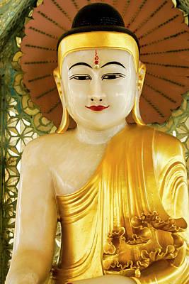 Photograph - Peaceful Buddha by Michele Burgess